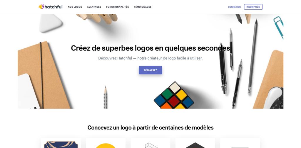 Hatchfull : outil de création en ligne de logo