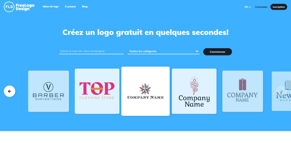 FreeLogoDesign création de logo gratuit professionnel
